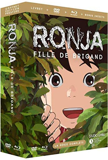 coffret integrale anime ronja serie studio ghibli editino collector Blu ray DVD