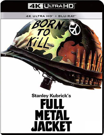 full metal jacket 4k blu ray Kubrick