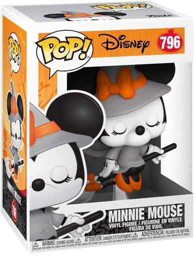 funko pop minnie mouse halloween sorciere witchy witch