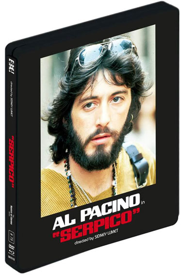 serpico steelbook blu ray 4K Ultra HD