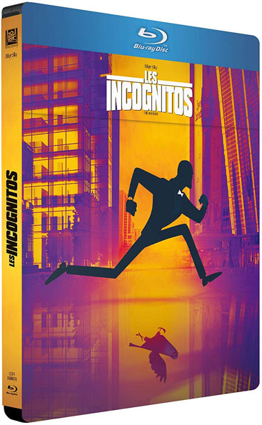 les incognitos steelbook bluray dvd film animation 2020