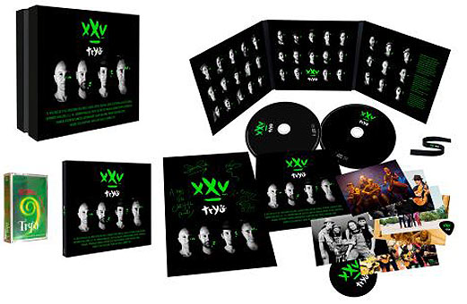 Tryo 25 ans Coffret Edition Limitee Collector