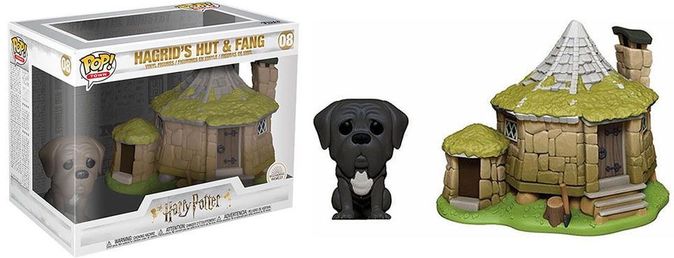 funko pop harry potter chien hagrid hut fang crocdur