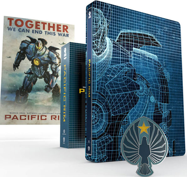 toc steelbook titans of cult pacific rim bluray 4k uhd