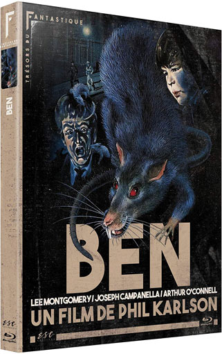 Ben film willard blu ray dvd editino esc 2020 horreur