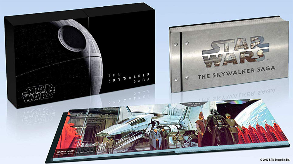 coffret collector saga skywalker integrale star wars 4k 2020