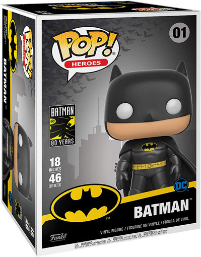 Funko Pop batman 80 years pop heroes 46 centimètres 18 inches