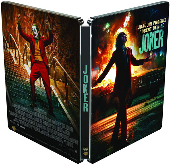 Joker steelbook collector Blu ray