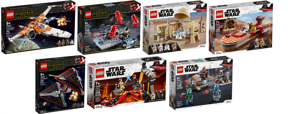 nouveau LEGO STAR WARS 2020 pack set