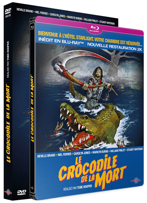 steelbook crocodile de la mort edition restaure Carlotta Blu ray DVD