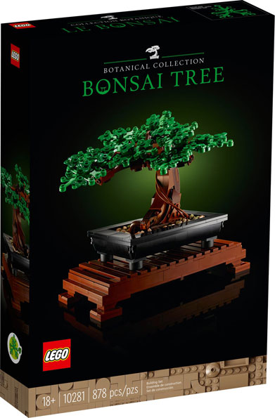 Lego Bonsai 10281 collection 2021 plante arbre