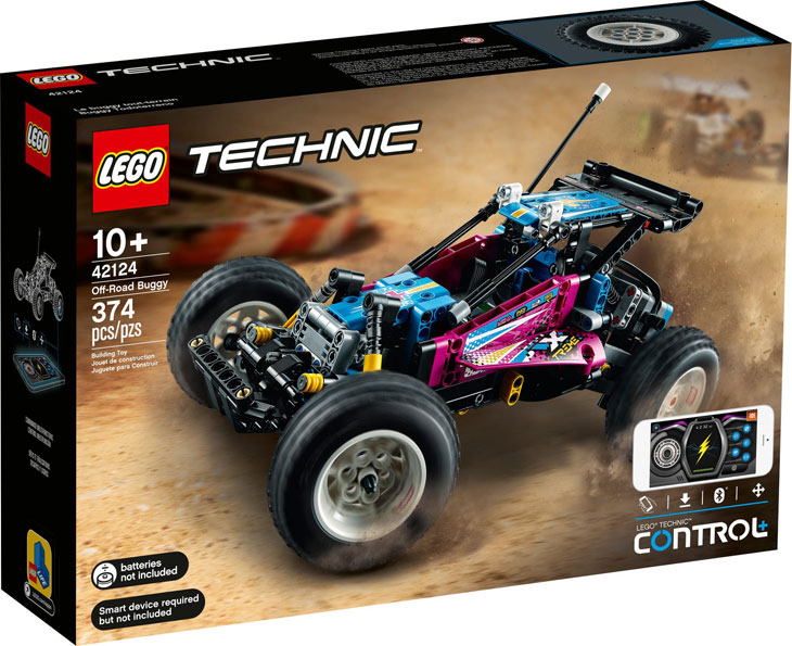 Lego Off road Buggy tout terrain 42124 Technic