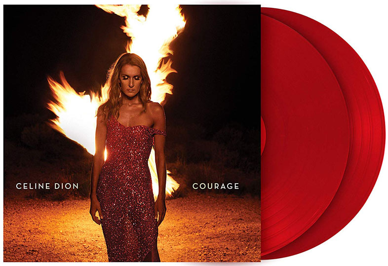 Celine dion courage double vinyle edition limitee courage nouvel album