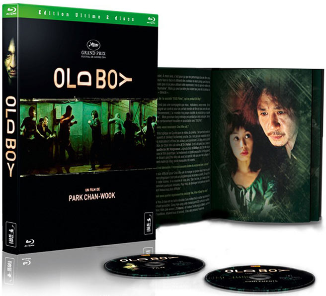 Old Boy blu ray DVD edition collector limitee