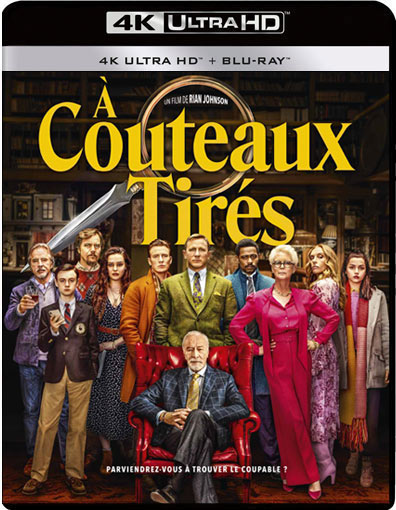 a couteau tires Blu ray DVD 4k steelbook collector