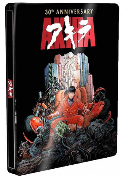 Akira steelbook collector 30th anniversary Blu ray version restaure
