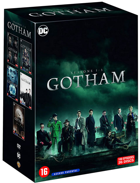 Gotham integrale serie coffret 5 saisons bluray dvd