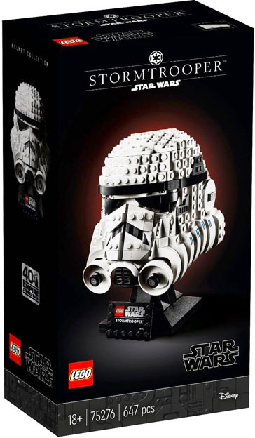 LEGO Star Wars casque stormtrroper 75276