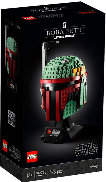 casque star Wars Lego Boba Fett 75277