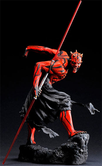 figurine star wars dark maul edition collector