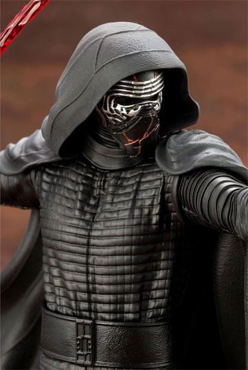 kylo ren kotobukiya figure collector