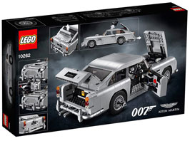 0 figurine jeu Lego 007 voiture collection