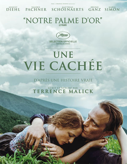 Blu ray une vie cachee terence malick