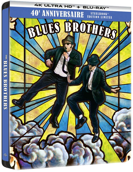blues brothers blu ray 4K Ultra HD edition collector 2020 40th anniversary