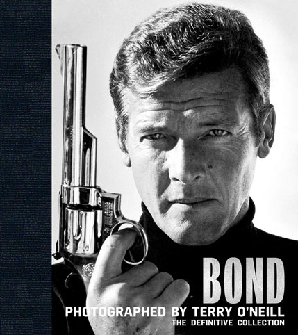 james Bond photographed livre collection