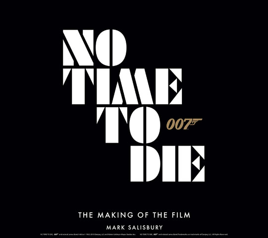 james bond no time to die making of livre collection