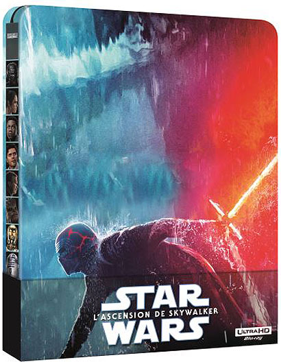 star wars 9 ascension skywalker Steelbook Blu ray 4K 3D