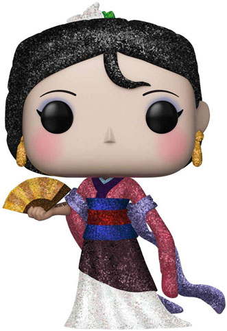 mulan funko pop diamond collection