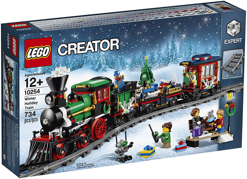train de noel lego creator collector