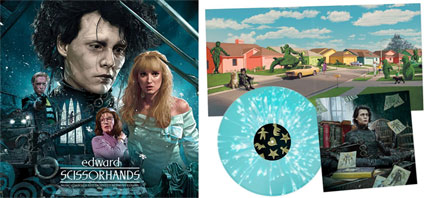 0 lp vinyl tim burton edward