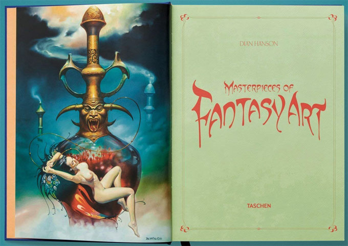 Artbook fantasy art sexy masterpiece livre de collection taschen