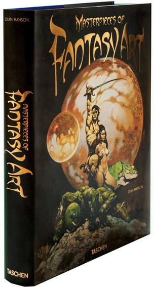 Masterpieces of fantasy art dian hanson edition limitee Taschen