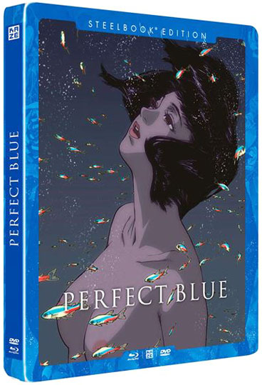 Perfect Blue Steelbook collector Blu ray DVD