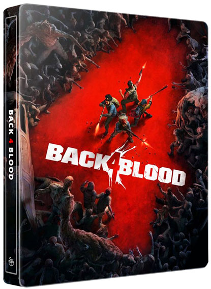 back for blood back4blood edition steelbook ps4 ps5