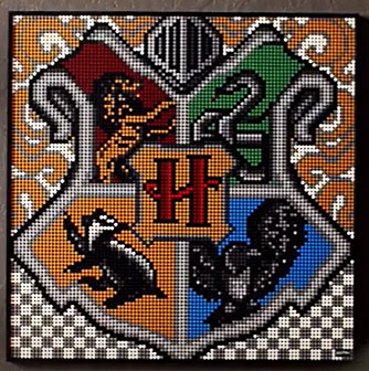 lego art harry potter