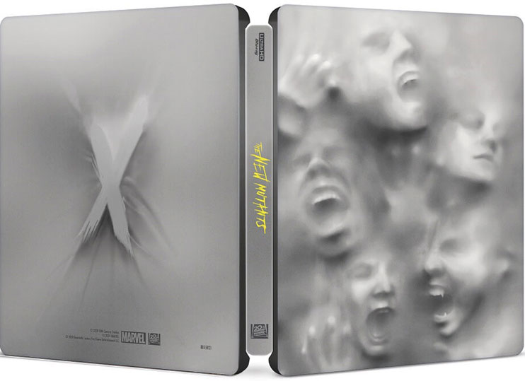 steelbook les nouveaux mutants edition collector Blu ray 4K Ultra HD