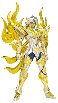 Figurine-Soul-Of-Gold-Leo-Aiolia-God-Cloth-Armure-Divine-Lion-saint-seiya
