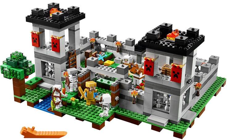 Minecraft Lego Jeu Video Complete Adventure Story Mode
