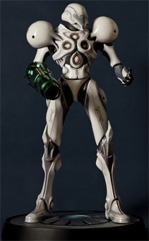 figurine-Metroid-Prime-2-Samus-Light-Suit-first-4-figures-edition-limitee