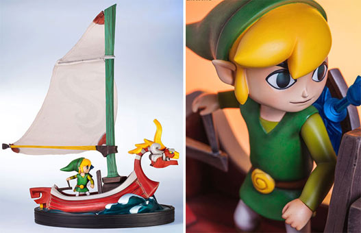 Figurine-Zelda-The-Windwaker-Link-on-the-King-of-Red-Lions