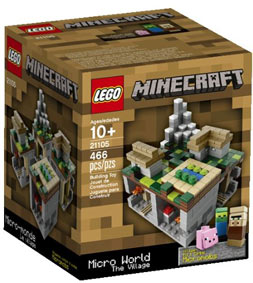 Lego-Minecraft-ideas-21105-Micro-world-Le-Village