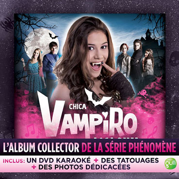 album-chica-vampiro-cd-Collector-DVD-KARAOKE