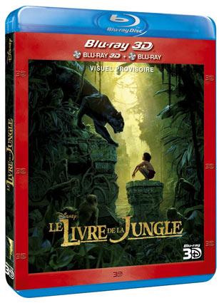 Le Livre De La Jungle 2016 Bluray 3d 2d Dvd Edition Collector Steelbook
