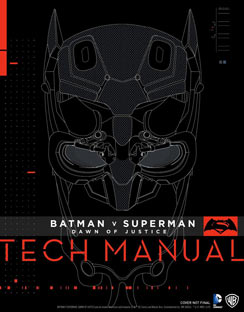 Batman-V-Superman-Dawn-Of-Justice-Tech-Manual-livre-artbook vo