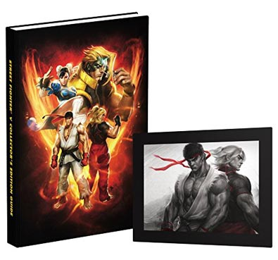 street-fighter-V-5-Artbook-edition-guide-collector
