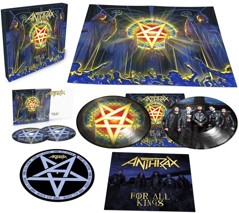 Anthrax-for-all-Kings-edition-collector-limitee-Vinyle-CD-LP-earbook
